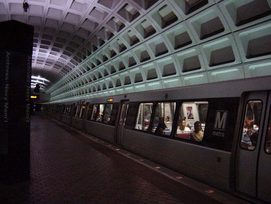 Mit der Metro nach Washington D.C.