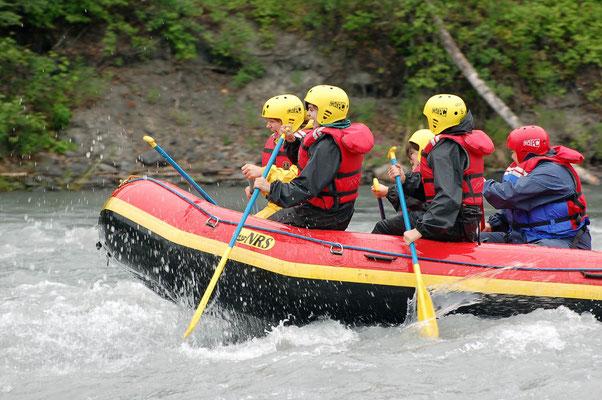 Rafting auf dem Eagle River