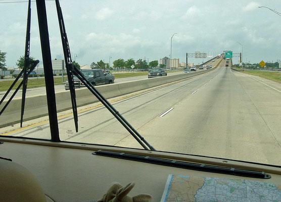auf der Interstate 10