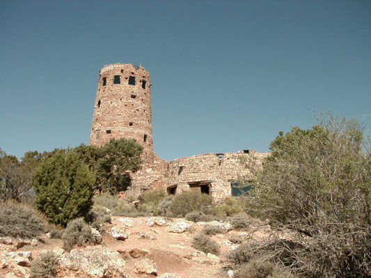 The Desert View Watchtower