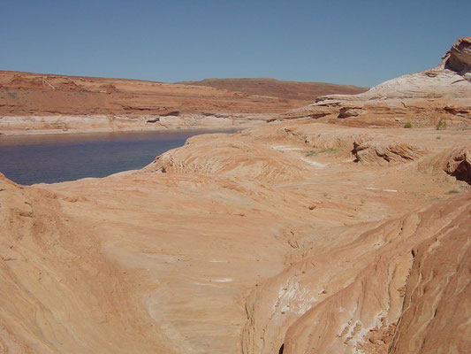 Lake Powell vor dem Glen Canyon Dam