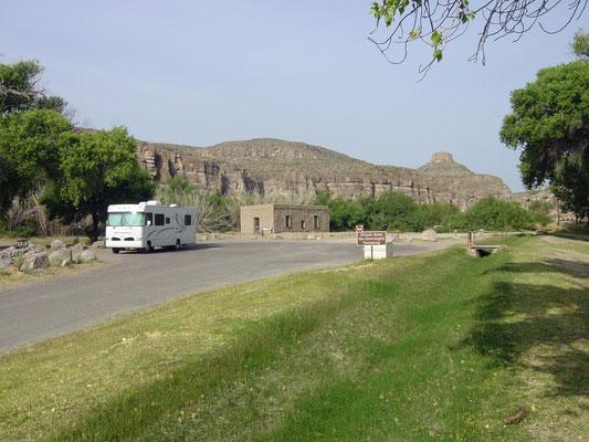 Auf dem Weg zum Boquillas Canyon Overlook