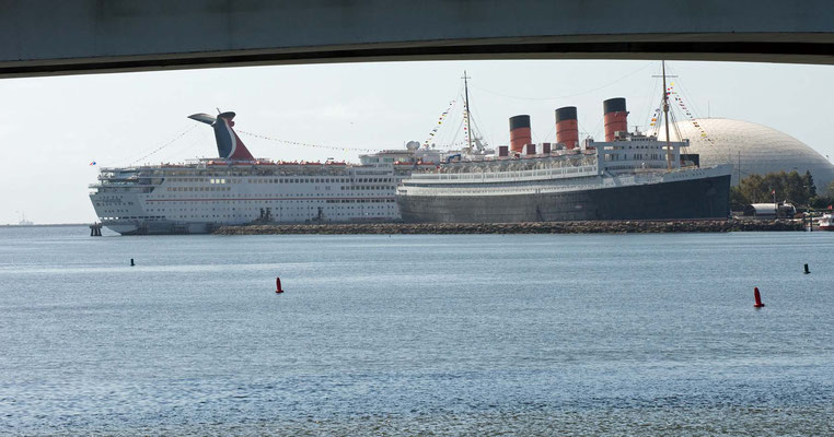 Queen Mary, Long Beach Harbor