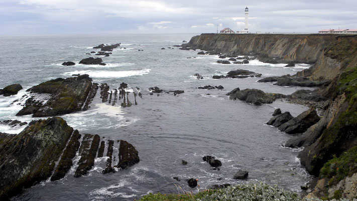 Abstecher zum Point Arena Lighthouse, California