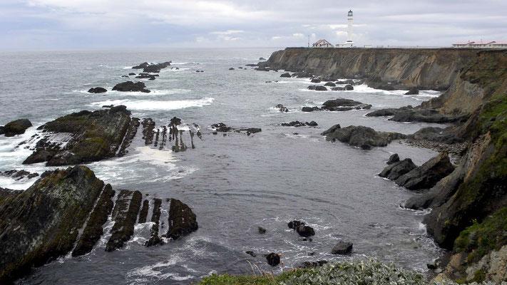Abstecher zum Point Arena Lighthouse, California