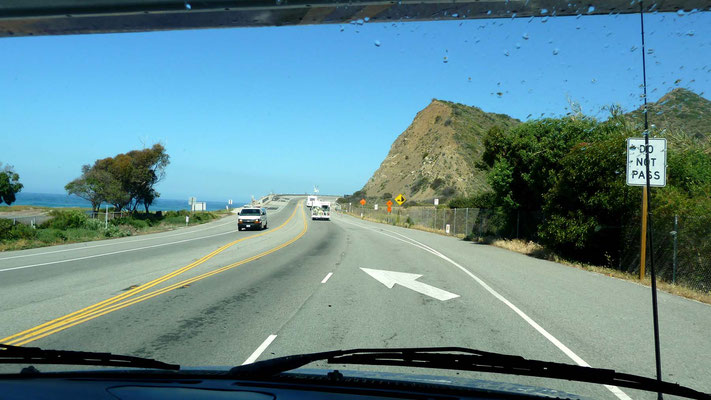 auf dem Pacific Coast Highway