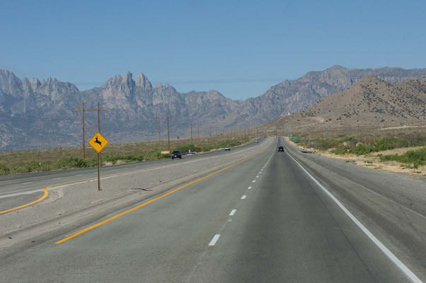 US 70, Tularosa Basin, New Mexico
