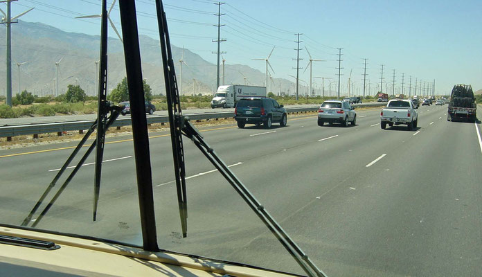 Wind Turbine Generators, Palm Springs, California