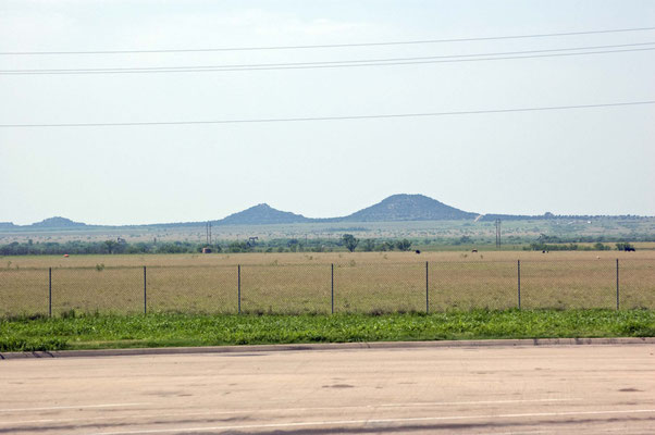 US 287, Rest Stop Area, Hedley, TX