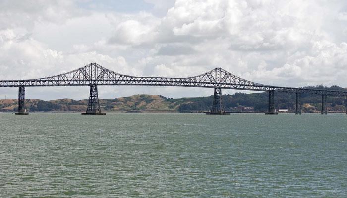 Bay Bridge zwischen Oakland und San Francisco