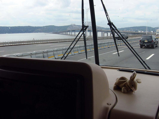 Tappan Zee Bridge  (nördlich von New York), Hudson River