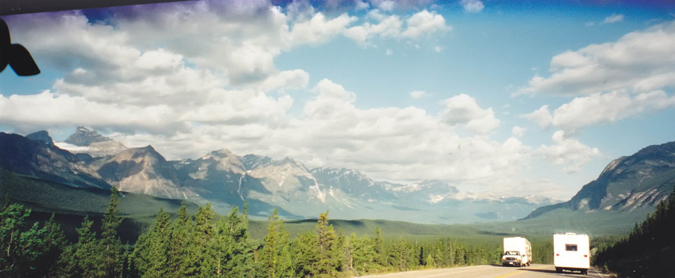auf dem Weg zum Whistler Campground