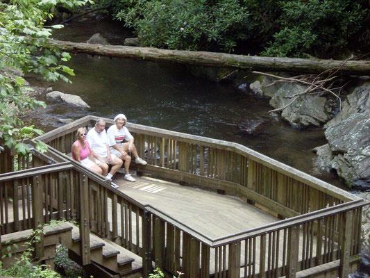 Observation Deck, Dukes Creek Falls