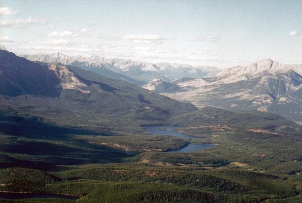 Blick auf Patricia und Pyramid Lake