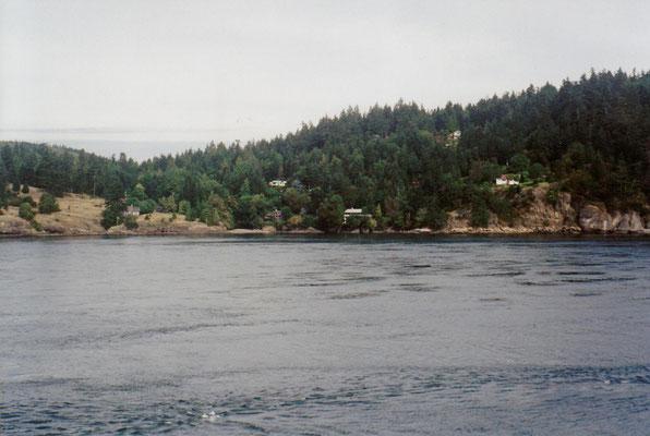 Überfahrt Swartz Bay - Tsawwassen
