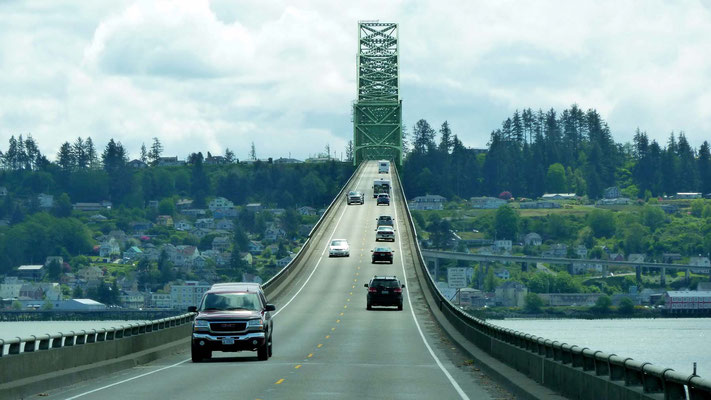 Origon Coast Hwy/Astoria - Megler Bridge