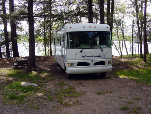 Lake Eaton State Park Campground