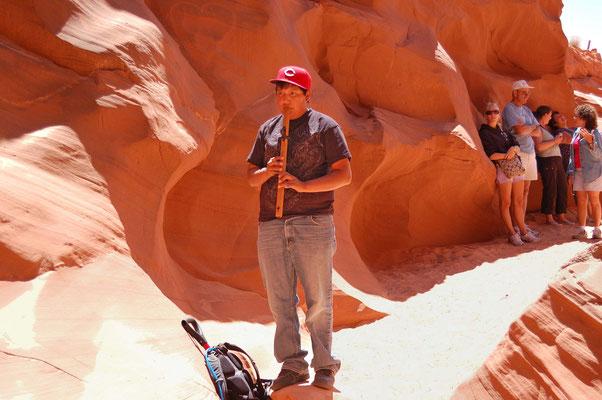 unser Führer, Upper Antelope Canyon
