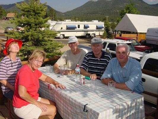 Im KOA Campground Estes Park