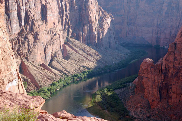Colorado River, Glen Canyon Dam Overlook