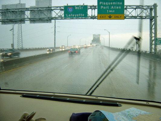 auf der Interstate 10, Baton Rouge