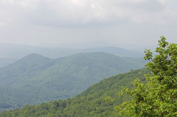 Black Rock Overlook, Black Rock Mountain State Park