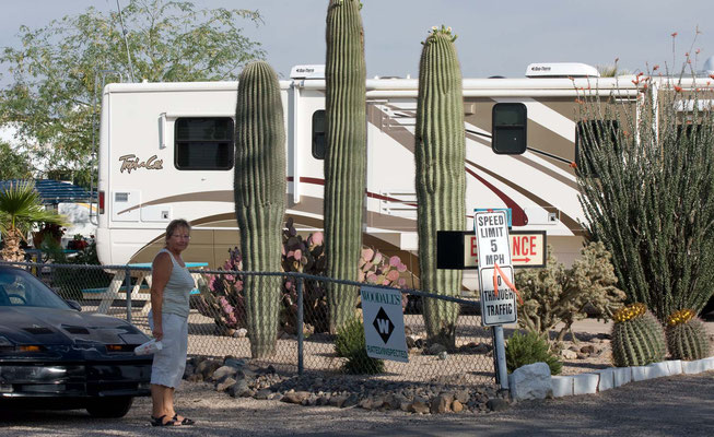 Tra-Tel RV Park, Tucson, Arizona