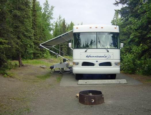 Campground im Eagle River State Park