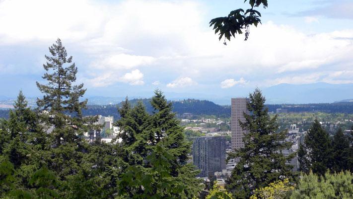 Blick vom Washington Park, Portland