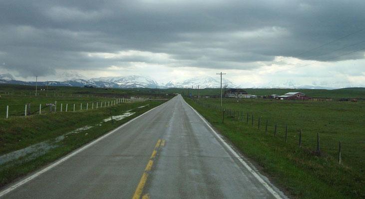 auf dem Weg zum Glacier National Park