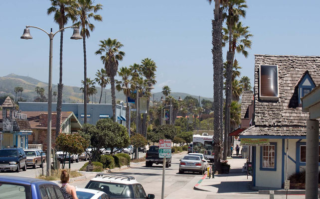 Ventura, Seaward Ave, California