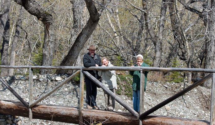 unsere Freunde aus Calgary, Bernd und Monika