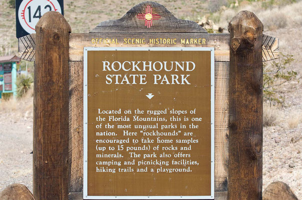 Rockhound State Park, New Mexico
