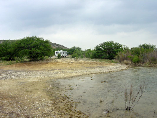 Spur 406 Campground, Amistad Reservoir