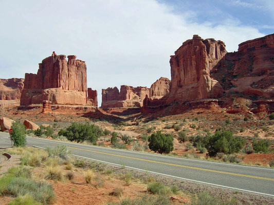 Courthouse Towers, Arches Nationalpark