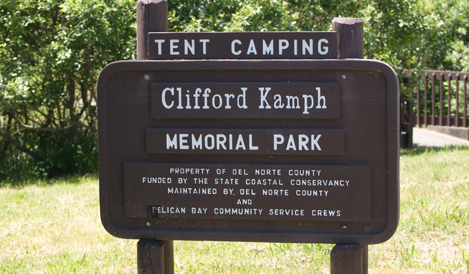 Clifford Kamph Memorial Park, 2 km vor Oregon