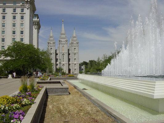 Temple Square, Salt Lake Temple