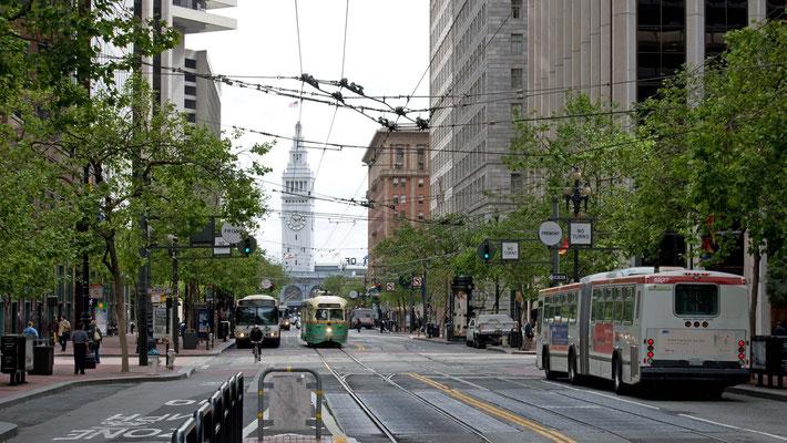 mit dem Bus Nr. 71 zum Golden Gate Park