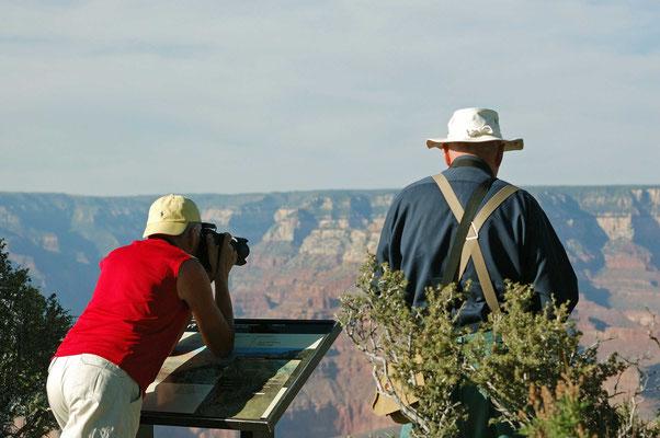 Hans und Bernd, Grand Canyon