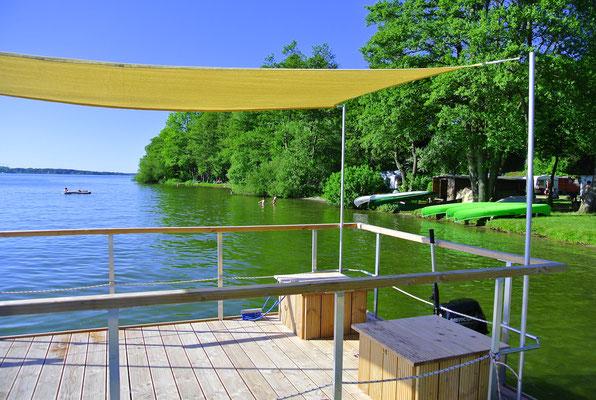 www.bulli4camp.de auf Naturcamping ZWEI SEEN am Plauer See in der Mecklenburgischen Seenplatte