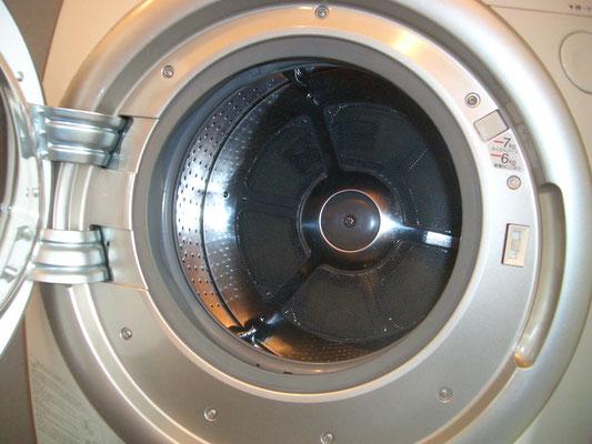 一般機種:ドラム中央にネジがあります