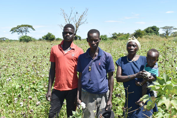 Ibrahim und seine Familie in Gulu | Uganda