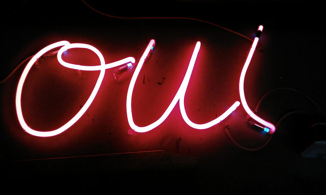 Neonbuchstaben//Neon Joecks Berlin