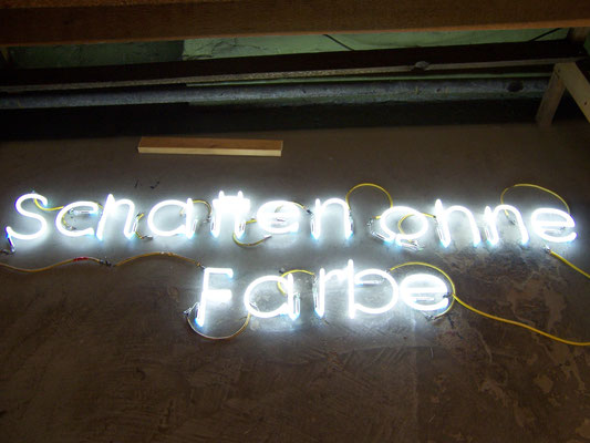 Neon Herstellung nach Wunsch//Neon Joecks Berlin
