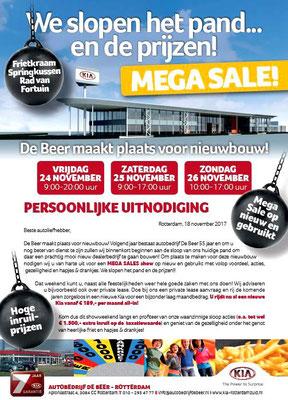 DM - Automotive Sales Event - Autobedrijf De Beer Rotterdam - KIA - 36 verkochte auto's in 1 weekend