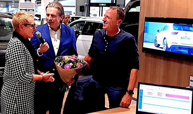 Verkoopstimulerende live-presentatie op Automotive Sales Event bij Auto Borchwerf Roosendaal - Volkswagen-Audi-SEAT-SKODA