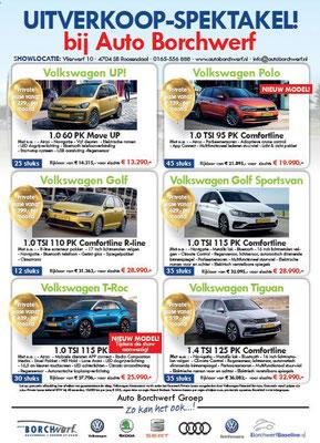DM - Automotive Sales Event - Mailing Auto Borchwerf Roosendaal - Volkswagen-Audi-SEAT-ŠKODA