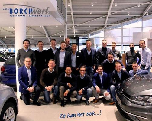 Auto Borchwerf Roosendaal (Volkswagen-Audi-SEAT-ŠKODA) - 97 verkochte auto's in 1 weekend - mei 2019