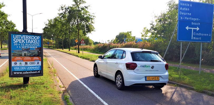 Buitenreclame - 2-signs - Automotive Sales Event - Van den Udenhout Helmond - Volkswagen-Audi-SEAT-ŠKODA - augustus-september 2019
