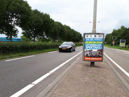 Buitenreclame Automotive Sales Event - Van den Udenhout Helmond - Volkswagen-Audi-SEAT-ŠKODA - juni 2018 - 35 verkochte auto's in 1 weekend - juni 2018